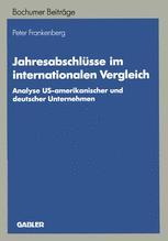 Jahresabschlüsse im internationalen Vergleich