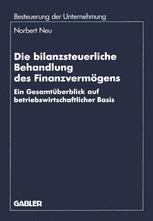 Die bilanzsteuerliche Behandlung des Finanzvermögens