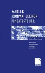 Gabler Kompakt-Lexikon Umsatzsteuer
