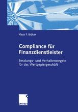 Compliance für Finanzdienstleister