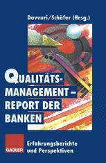 Qualitätsmanagement-Report der Banken
