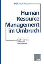 Human Resource Management im Umbruch