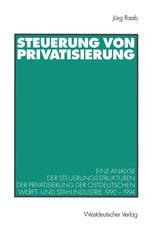 Steuerung von Privatisierung