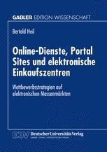 Online-Dienste, Portal Sites und elektronische Einkaufszentren