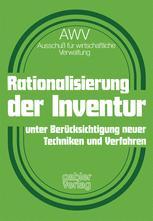 Rationalisierung der Inventur unter Berücksichtigung neuer Techniken und Verfahren