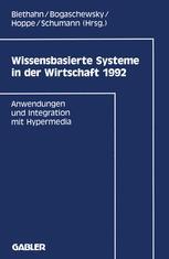Wissensbasierte Systeme in der Wirtschaft 1992