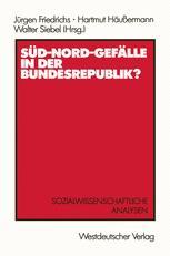 Süd-Nord-Gefälle in der Bundesrepublik?