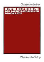 Kritik der Theorie der partizipatorischen Demokratie