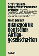 Bilanzpolitik deutscher Aktiengesellschaften