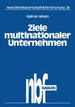 Ziele multinationaler Unternehmen