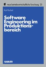 Software Engineering im Produktionsbereich