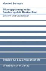 Bildungsplanung in der Bundesrepublik Deutschland