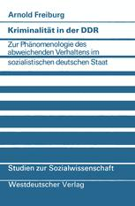 Kriminalität in der DDR