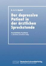 Der Depressive Patient in der Ärztlichen Sprechstunde