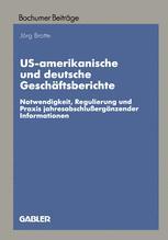 US-amerikanische und deutsche Geschäftsberichte