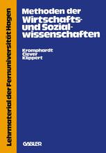 Methoden der Wirtschafts- und Sozialwissenschaften
