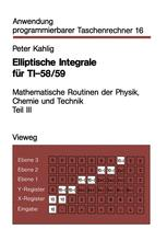 Elliptische Integrale für TI-58/59