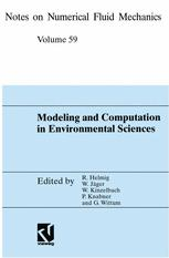 Modeling and Computation in Environmental Sciences