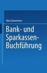 Bank- und Sparkassen-Buchführung