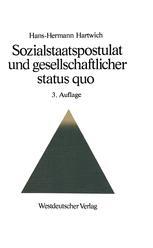 Sozialstaatspostulat und gesellschaftlicher status quo