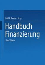 Handbuch Finanzierung