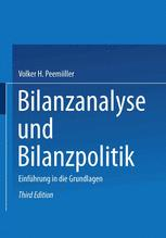Bilanzanalyse und Bilanzpolitik