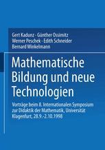 Mathematische Bildung und neue Technologien