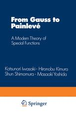 From Gauss to Painlevé