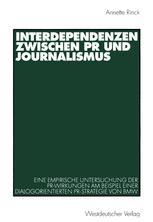 Interdependenzen zwischen PR und Journalismus