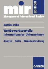 Wettbewerbsvorteile internationaler Unternehmen