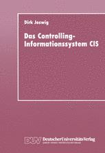 Das Controlling-Informationssystem CIS