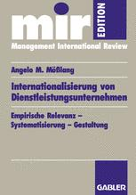 Internationalisierung von Dienstleistungsunternehmen