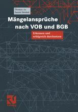 Mängelansprüche nach VOB und BGB