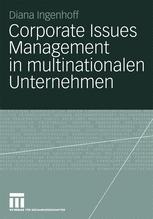 Corporate Issues Management in multinationale Unternehmen