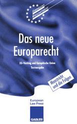 Das neue Europarecht