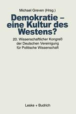 Demokratie — eine Kultur des Westens?
