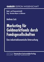 Marketing für Geldmarktfonds durch Fondsgesellschaften