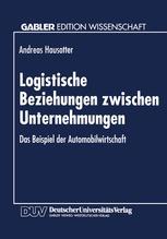 Logistische Beziehungen zwischen Unternehmungen