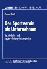 Der Sportverein als Unternehmen