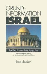 Grundinformation Israel