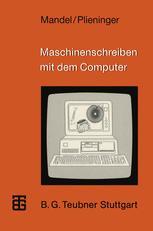 Maschinenschreiben mit dem Computer