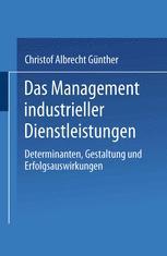 Das Management industrieller Dienstleistungen