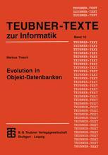 Evolution in Objekt-Datenbanken