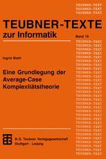 Eine Grundlegung der Average-Case Komplexitätstheorie