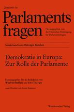 Demokratie in Europa: Zur Rolle der Parlamente