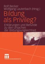 Bildung als Privileg?
