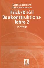 Frick / Knöll Baukonstruktionslehre 2