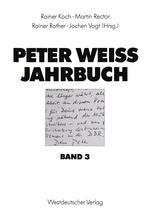 Peter Weiss Jahrbuch 3