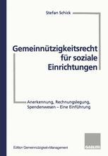 Gemeinnützigkeitsrecht für soziale Einrichtungen