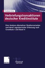 Verbriefungstransaktionen deutscher Kreditinstitute